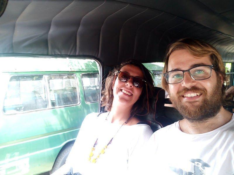 Minivan de Probolinggo a Bromo