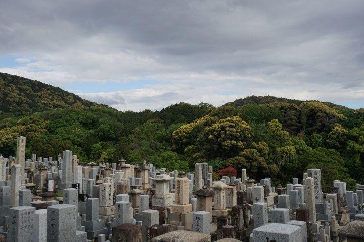 Cementerio en Kiyomizu Dera, Kioto.