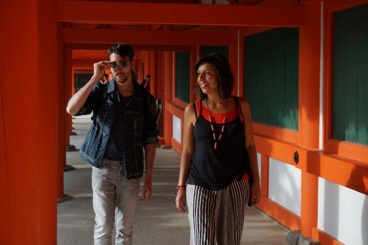 Lxs Darlin paseando siempre con estilo por en Kasuga Taisha, en Nara.