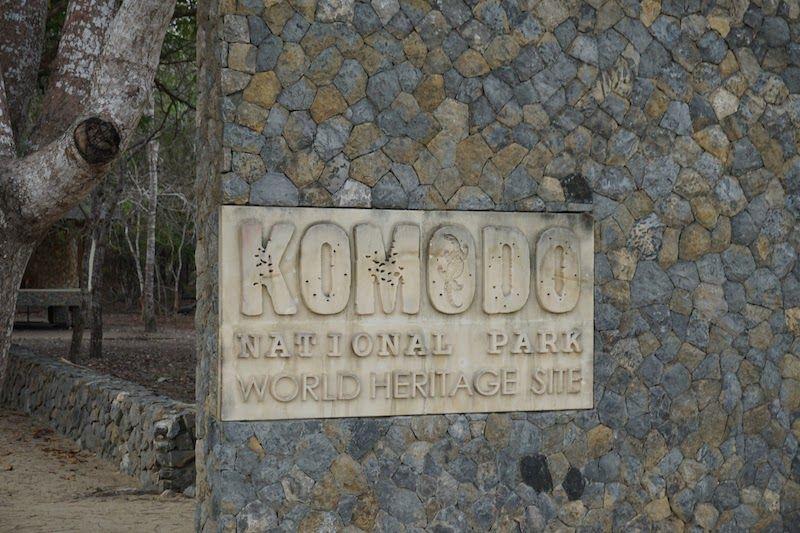 Entrada Parque Nacional de Komodo