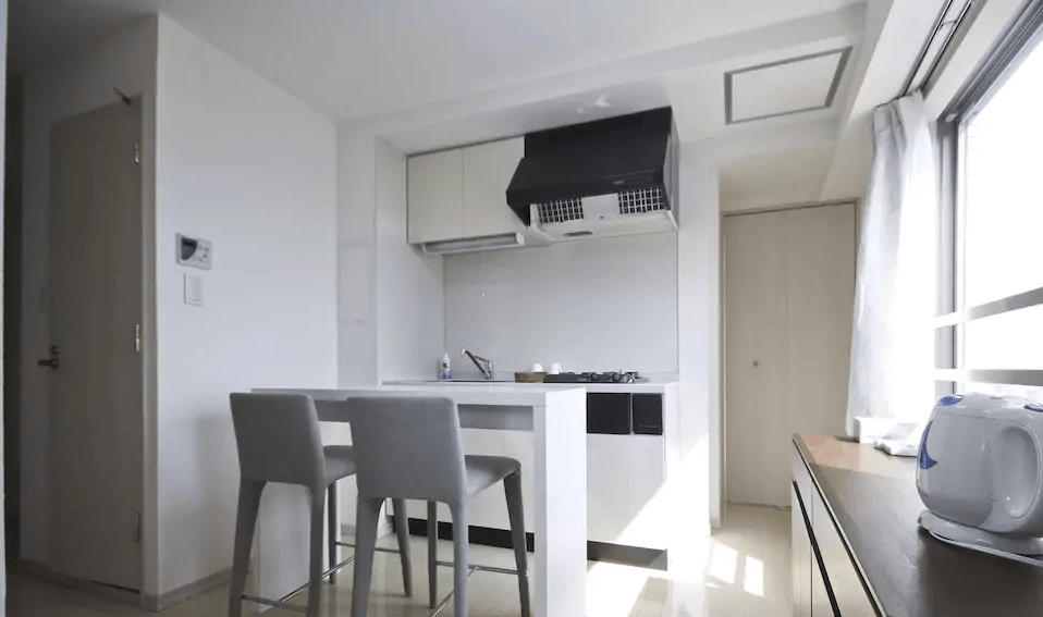 Mini-cocina en apartamento en Nakano (Tokio)
