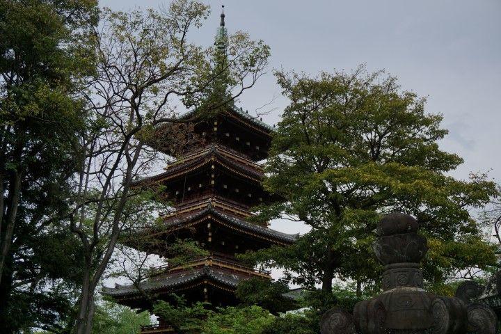 Pagoda del Templo Kaneiji, Parque Ueno.