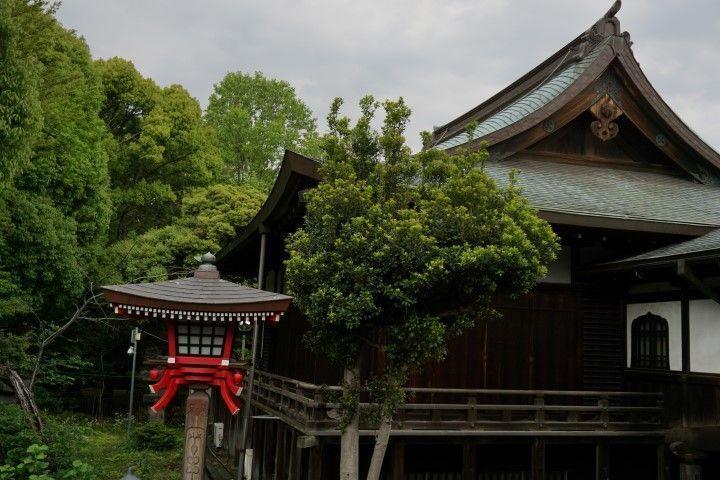 Rincón del Templo Templo Gojo-Tenjin, Parque Ueno.