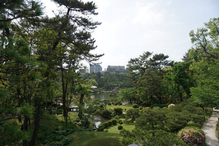 El jardín Shukkei-en, Hiroshima