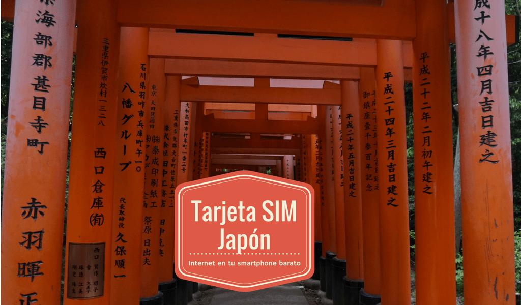 Tarjeta SIM en Japón