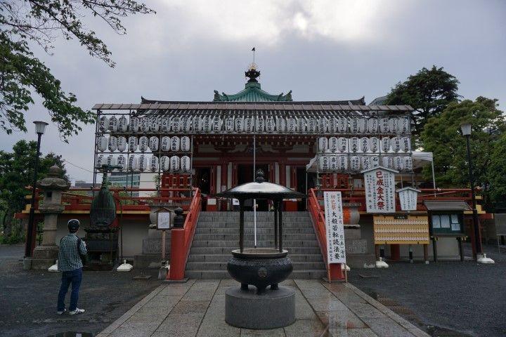 Templo, parque Ueno.