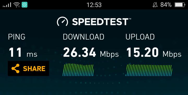 Test velocidad Seul con router wifi portátil de kt olleh