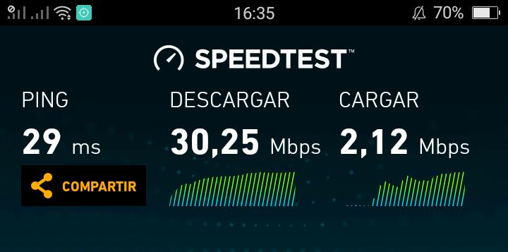 Test de velocidad router wifi portátil en Hiroshima