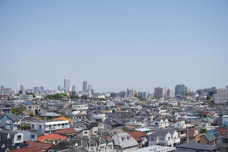 Vistas Tokio desde Nakano