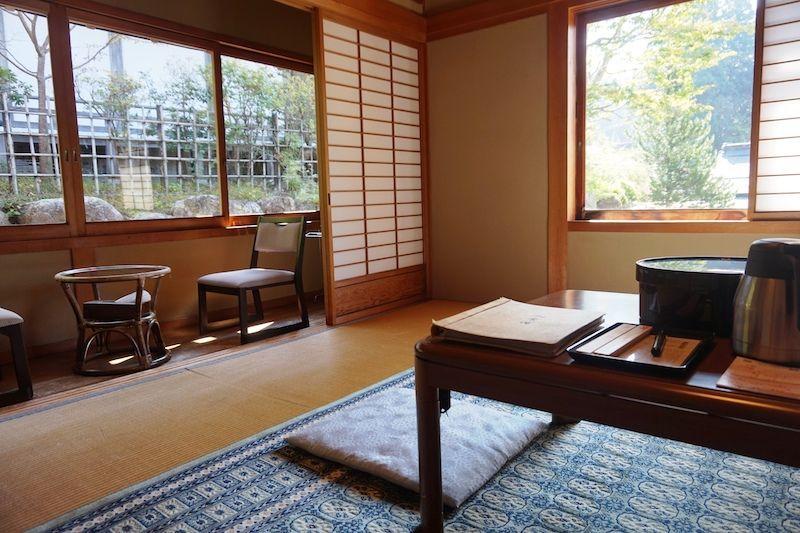 Nuestra habitación en Ekoin temple