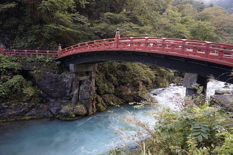 La residencia imperial y el puente de Shinkyo