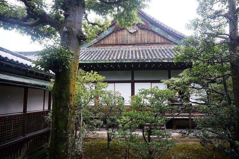 Interior del Castillo de Kyoto.
