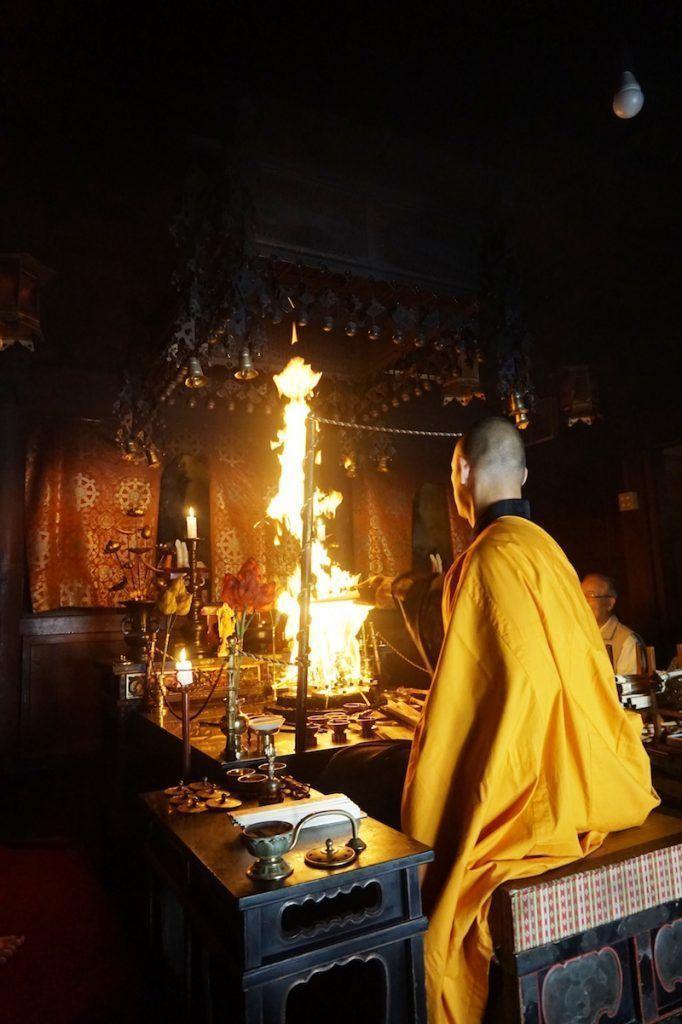 La ceremonia del fuego