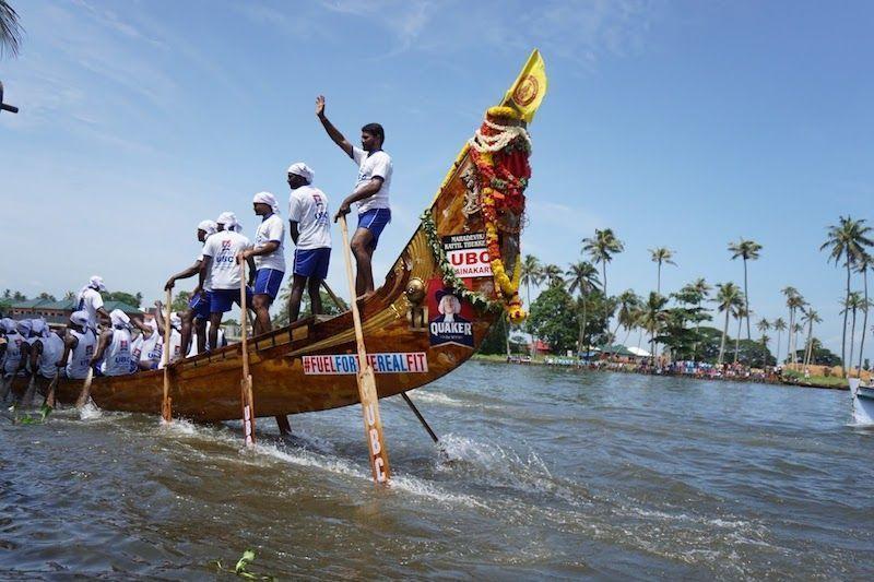 snake boat race allepey