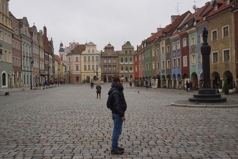 Poznan o la ciudad cuya plaza nos enamoró. 😍