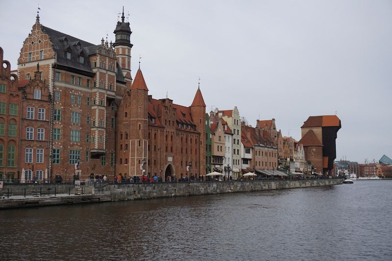 Si #Torun fue una sorpresa, #Gdansk salta directamente para el podio de la ciudad más bella que conocimos en este #randomroadtrip polaco.