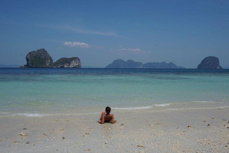 El paraíso de Ko Ngai en Tailandia