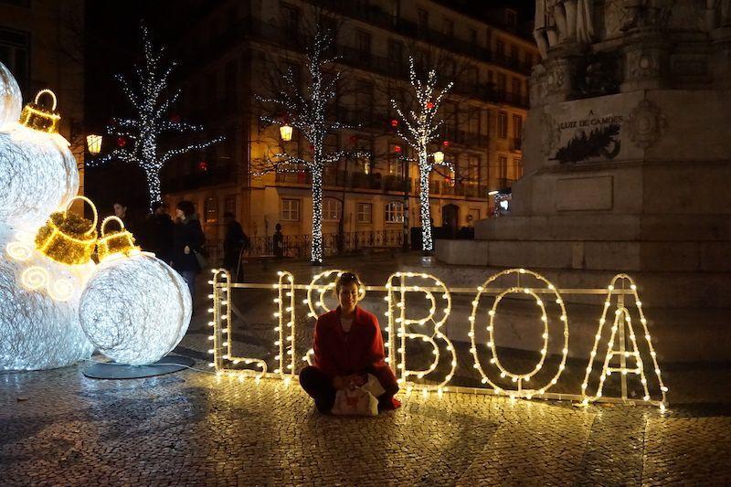 Lisboa bajo el solsticio de invierno