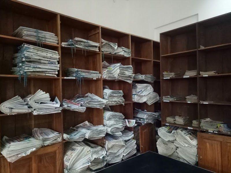 jaffna biblioteca