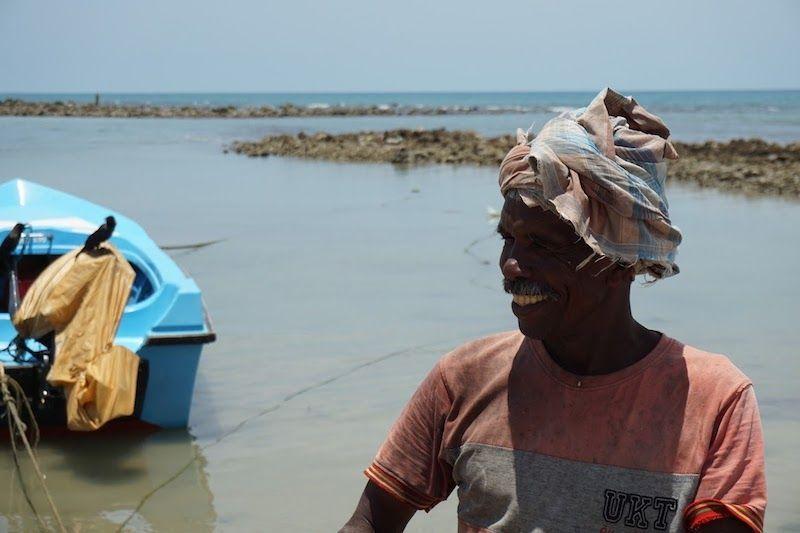 pescador en point pedro