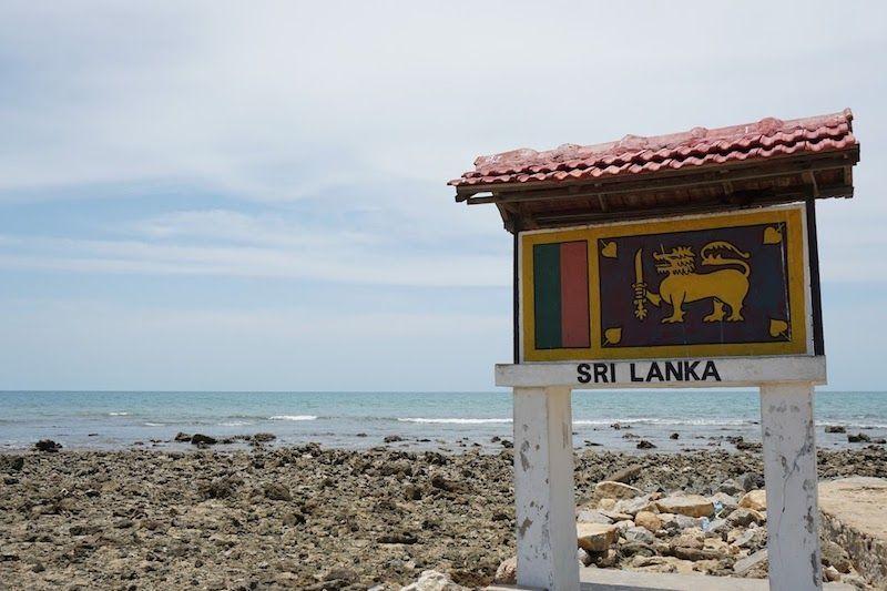 la punta más al norte de sri lanka