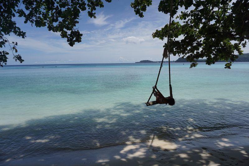 Gapang Beach fue nuestro paraíso particular durante una semana en Pulau Weh: buceo, trabajo y playa!