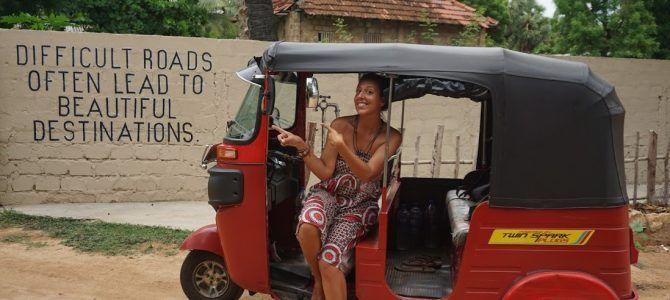 Itinerario de Sri Lanka de 25 días en tuk tuk: Norte y Este de la isla