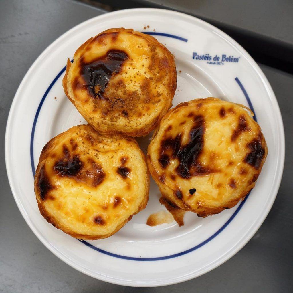 Los famosos y auténticos Pasteis de Belém