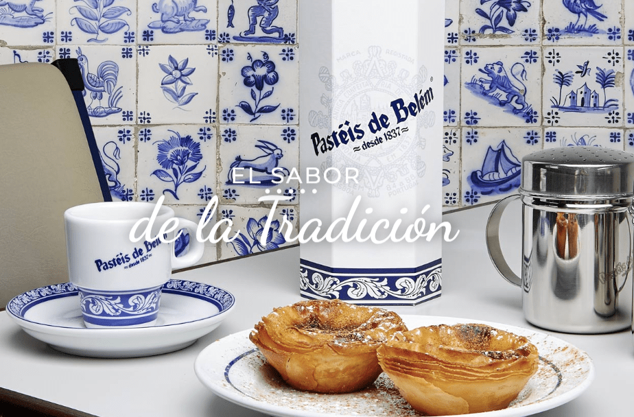 """Los auténticos pastéis de Belém, en la pastelería """"Pastéis de Belém"""""""