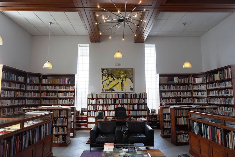 Biblioteca Casa Jose Saramago Lanzarote