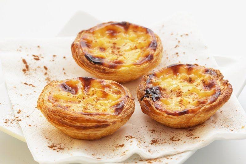 Los apetecibles pasteis de nata. Fuente: https://missdenglishclass.wordpress.com/2015/09/23/the-traditional-portuguese-pastery-pastel-de-nata/