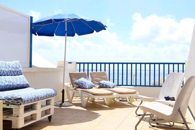 Sunrise casita del Mar, nuestro alojamiento en Punta Mujeres. Foto de Booking