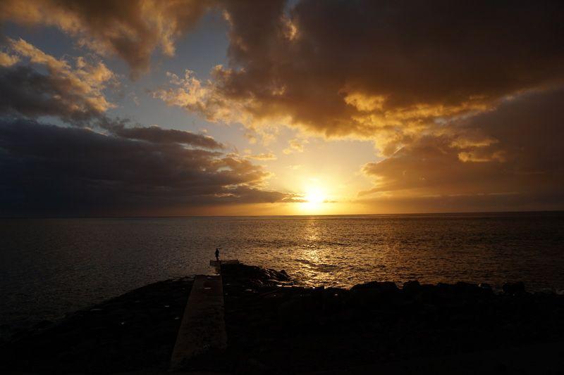 Otro mágico atardecer en Madeira. Este, en Paúl do Mar
