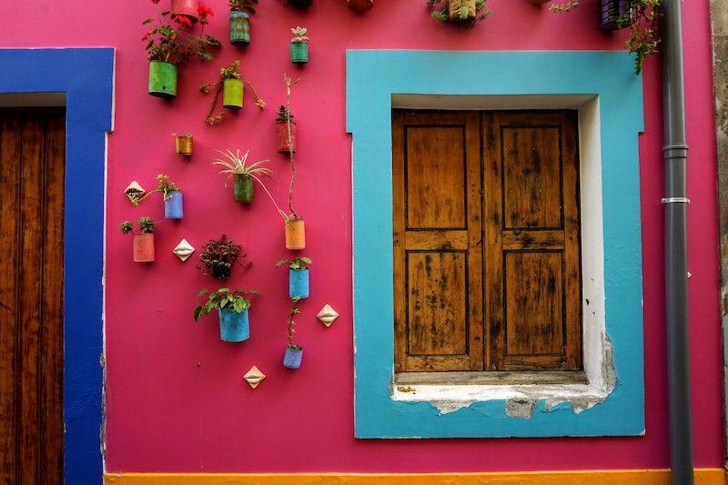 Una muy pequeña muestra del arte urbano que te encontrarás en Funchal