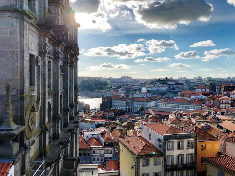 Vistas de Oporto desde la Catedral...