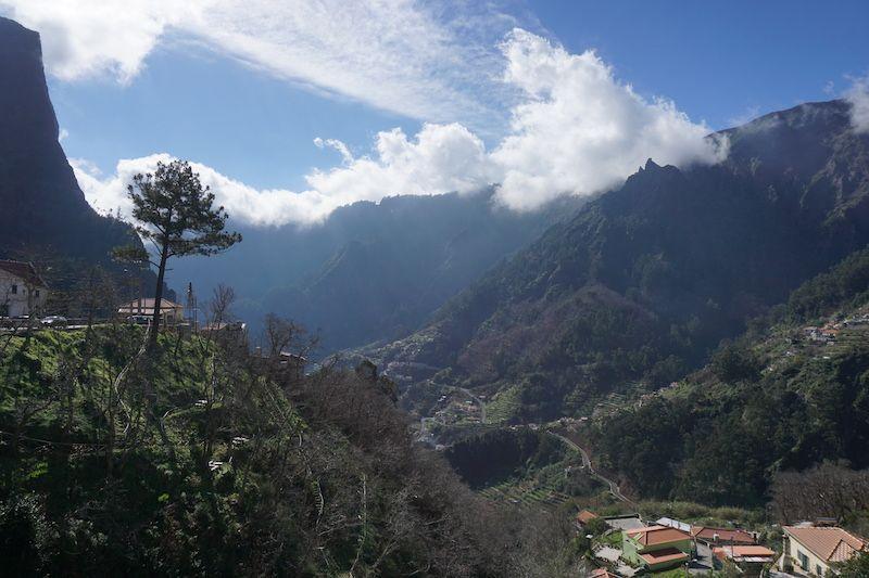 Curral das Freiras, un pueblo oculto entre montañas hasta los años 60