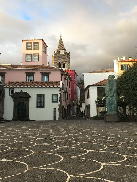 Centro histórico de Funchal, donde estaba nuestro apartamento