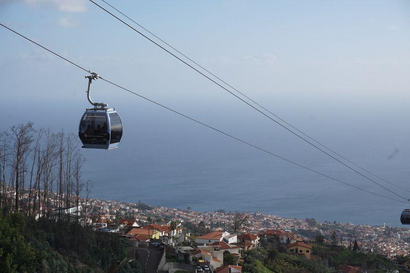 Teleférico do Monte: 11€/persona sólo ida, o 16€/persona ida y vuelta