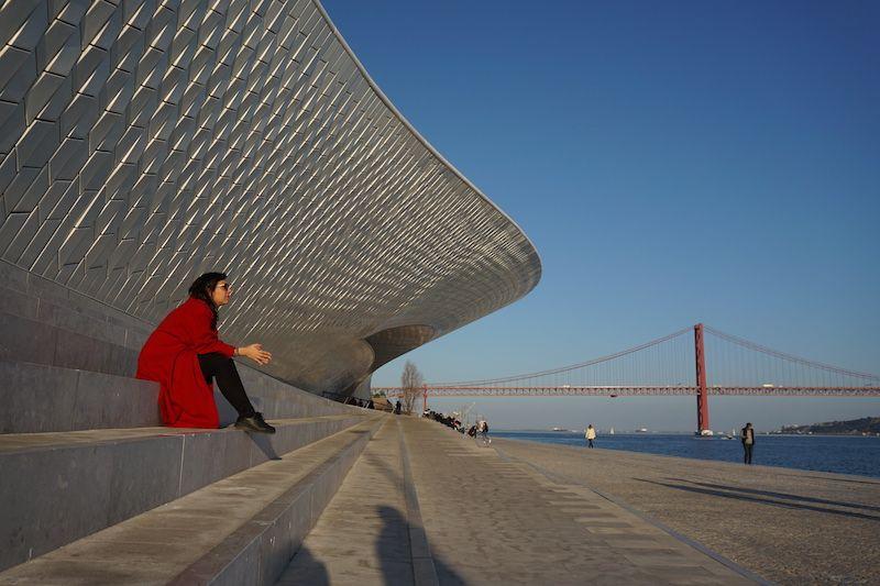 El increíble MAAT (Museo de Arte, Arquitectura y tecnología) a orillas del Tajo