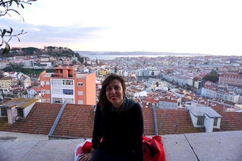 Yo acabando uno de mis paseos en el Mirador Nossa Senhora do Monte, uno de mis preferidos de la ciudad.