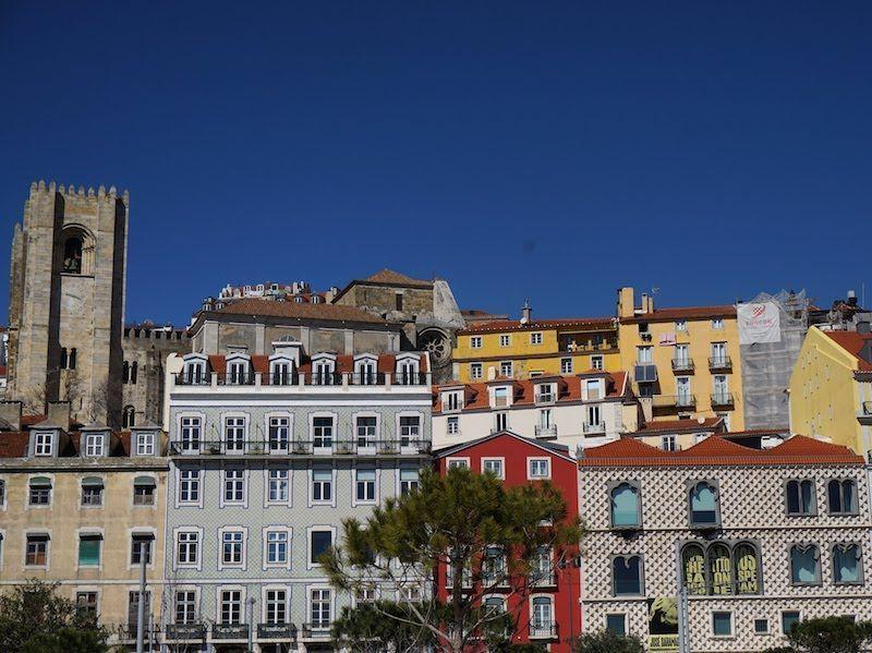 Un fragmento de lo bella que eres, Lisboa
