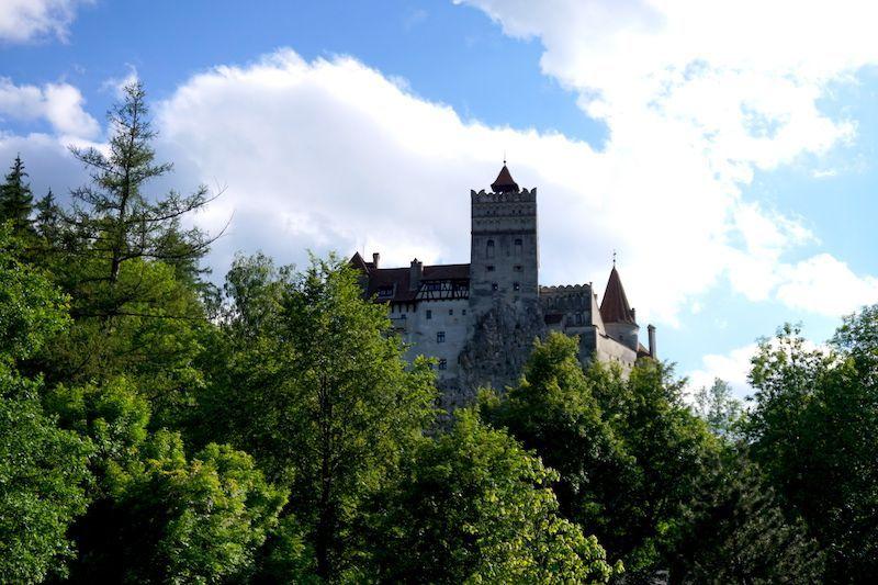 El famosísimo Castillo de Bran, también conocido como el Castillo de Drácula