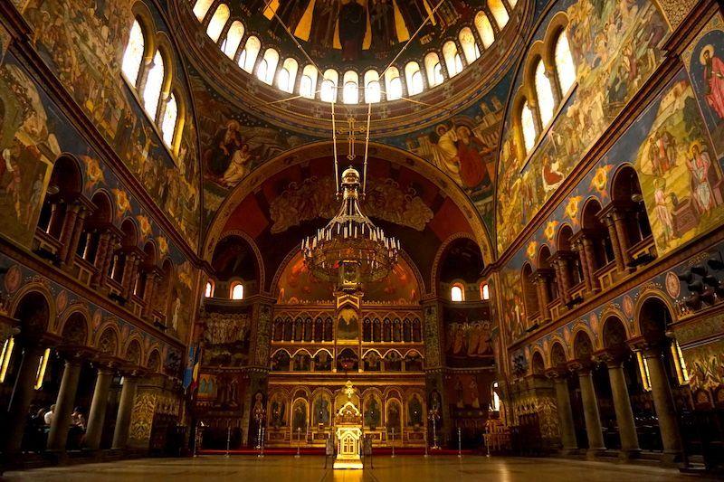 La Catedral de la Santísima Trinidad de Sibiu