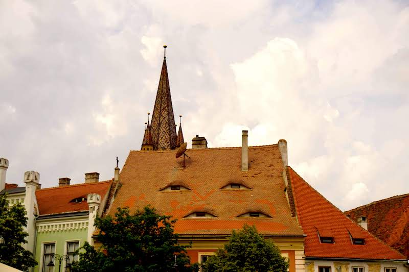 Las casas con ojos de Sibiu