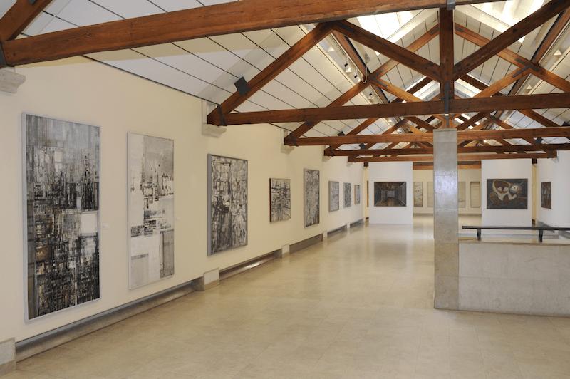 Interior de la Fundación Arpad Szenes Vieira da Silva