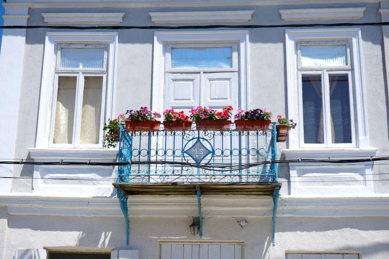 Casas típicas de Sfantu Gheorghe