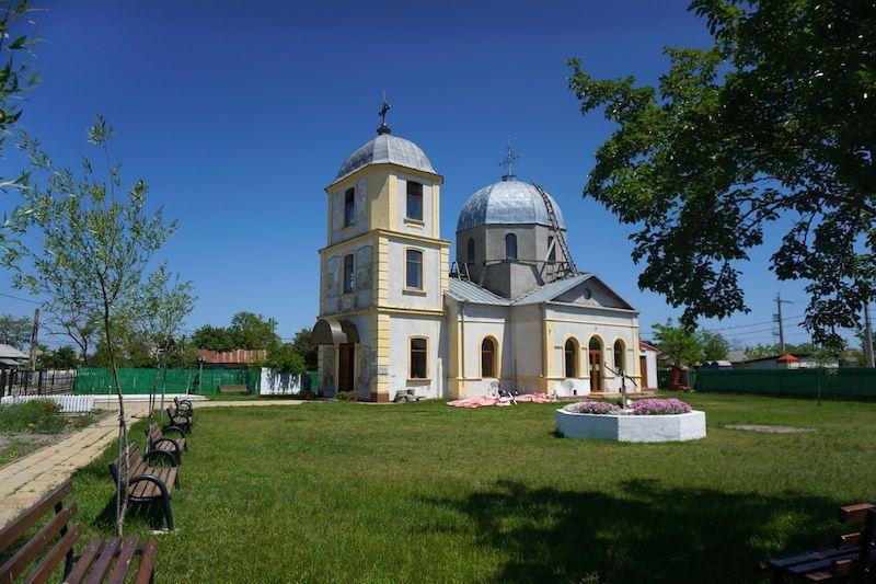 Exterior de la Iglesia de Sfantu Gheorghe