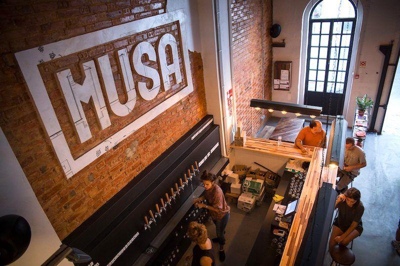 Fábrica de la cerveza Musa. Foto de Observador