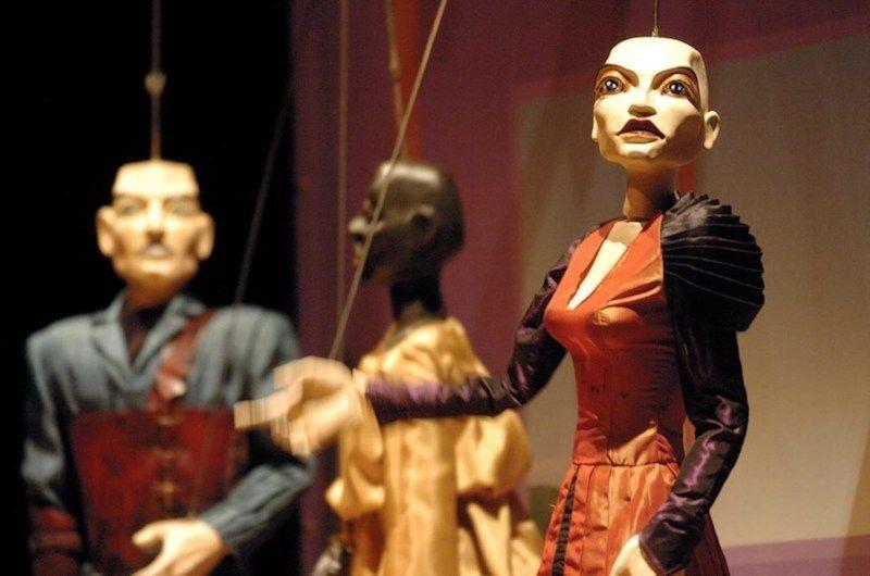 Uno de los espectáculos del Museu da Marioneta. Foto de Público