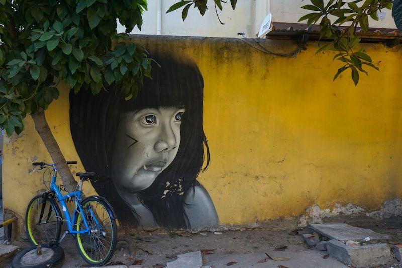 Más street art en el LX Factory